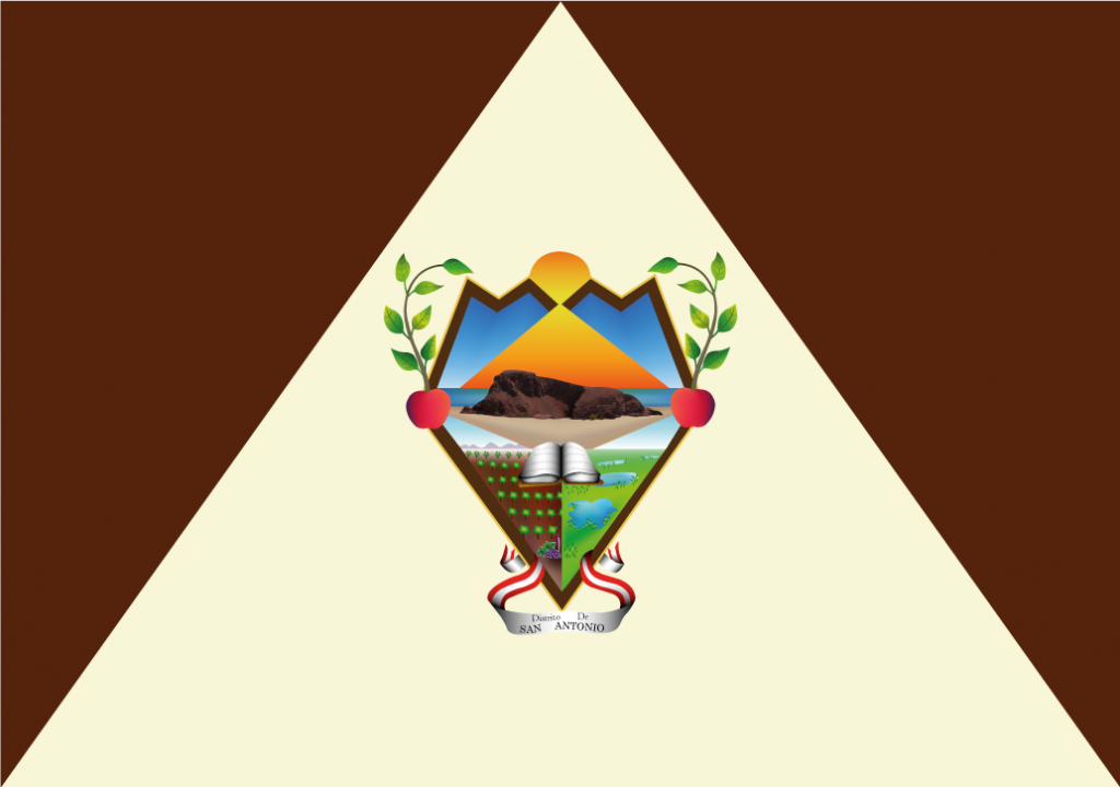 Bandera del Distrito de San Antronio