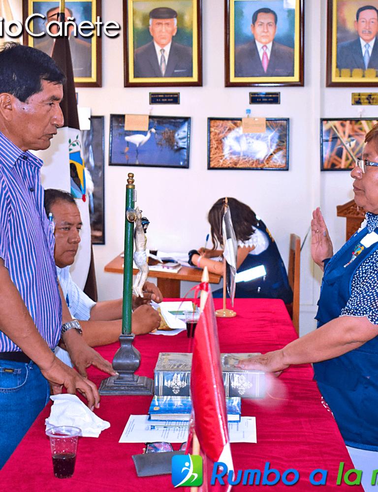 JURAMENTÓ PLATAFORMA DE DEFENSA CIVIL DE SAN ANTONIO