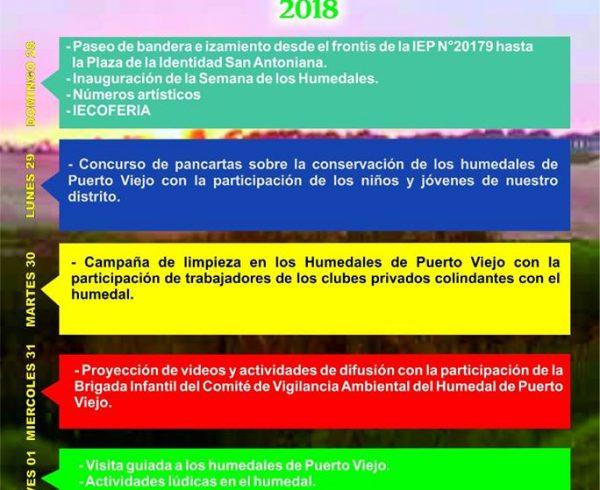 NOTA DE PRENSA N° 005 – MDSA – 2018
