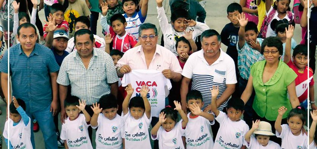 INAUGURACIÓN DE LAS VACACIONES RECREATIVAS 2019.